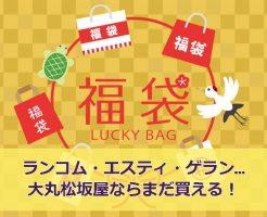 【コスメ福袋2018】大丸百貨店通販ラッキーバッグの中身は?